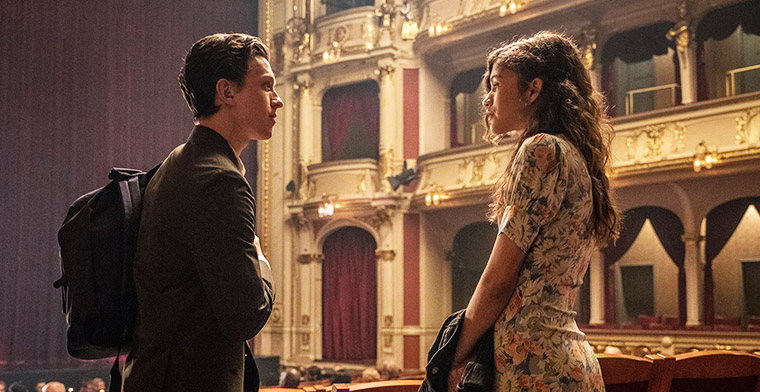 Tom Holland and Zendaya star in Spiderman Far From Home